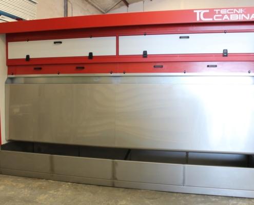 cabina aspiracion granito silicio