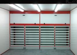 cabina modulos filtro