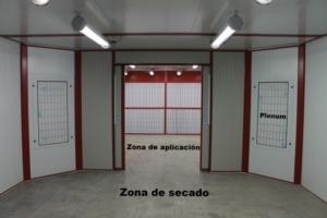 zona secado plenums verticales