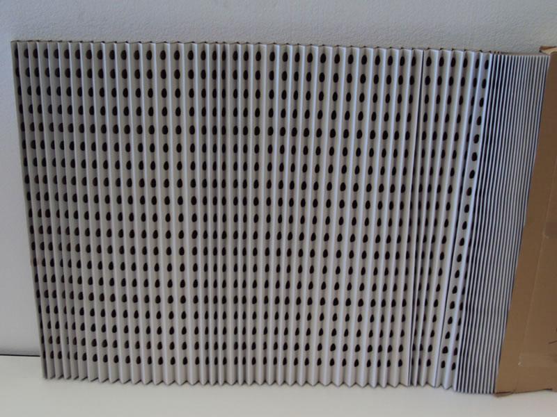 filtro carbon plegado