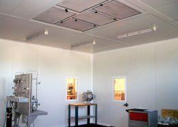Sala limpia ensayos laboratorio